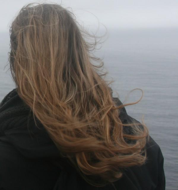 Azoren Insel Sao Miguel im Februar Blick auf Wasser Küste