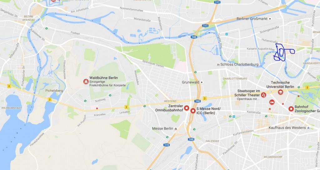 Bootstour durch Berlin 2