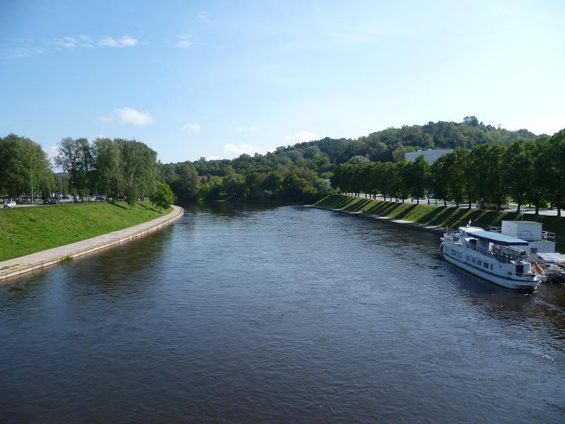 Vilnius Wilna Fluss