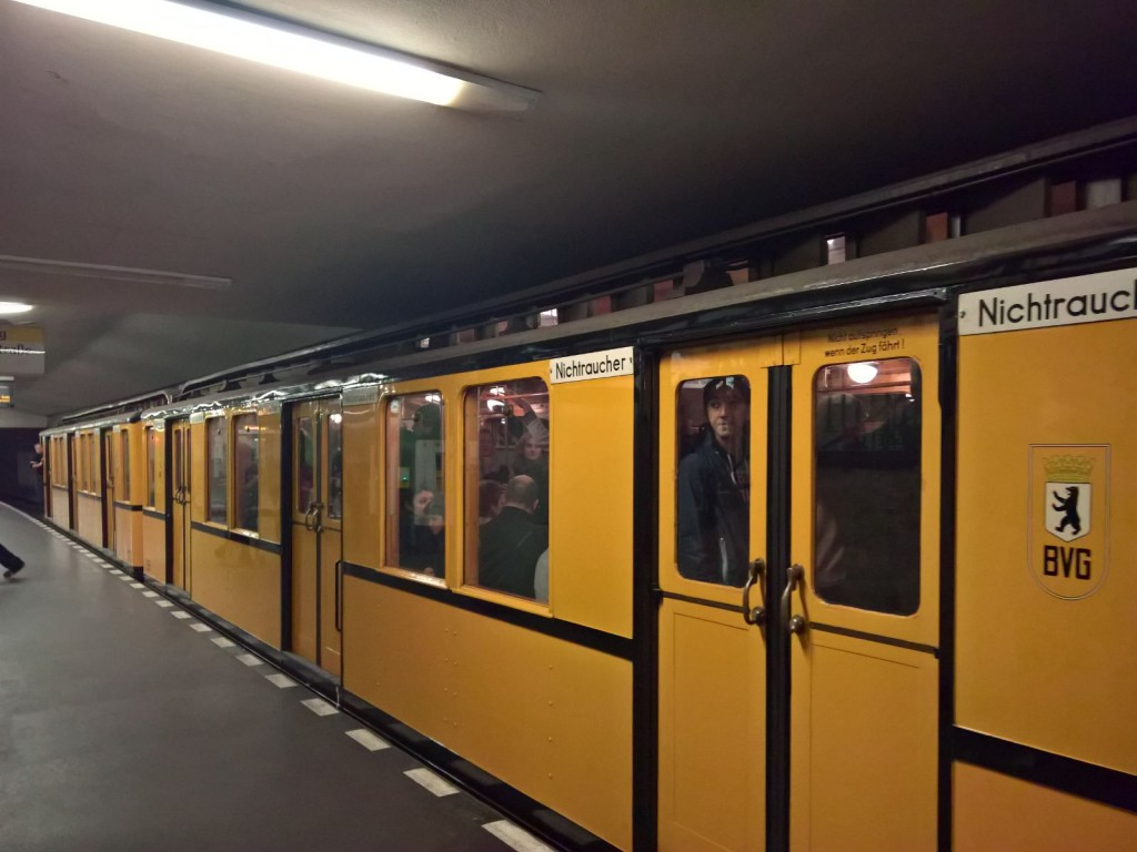 historische Ubahn berlin