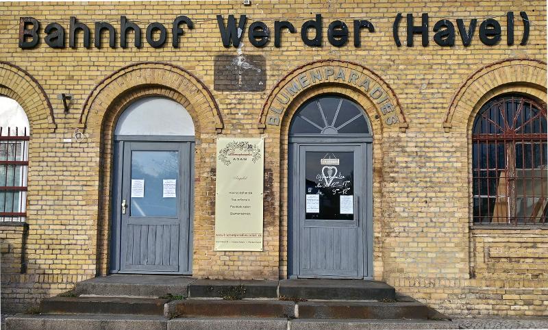Bahnhof Werder an der Havel Brandenburg