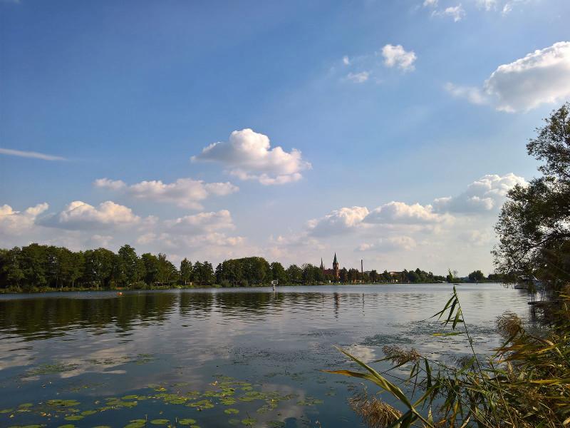 Wasser Blick Werder Havel