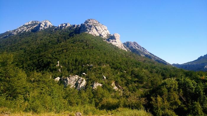 berg nationalpark paklenica