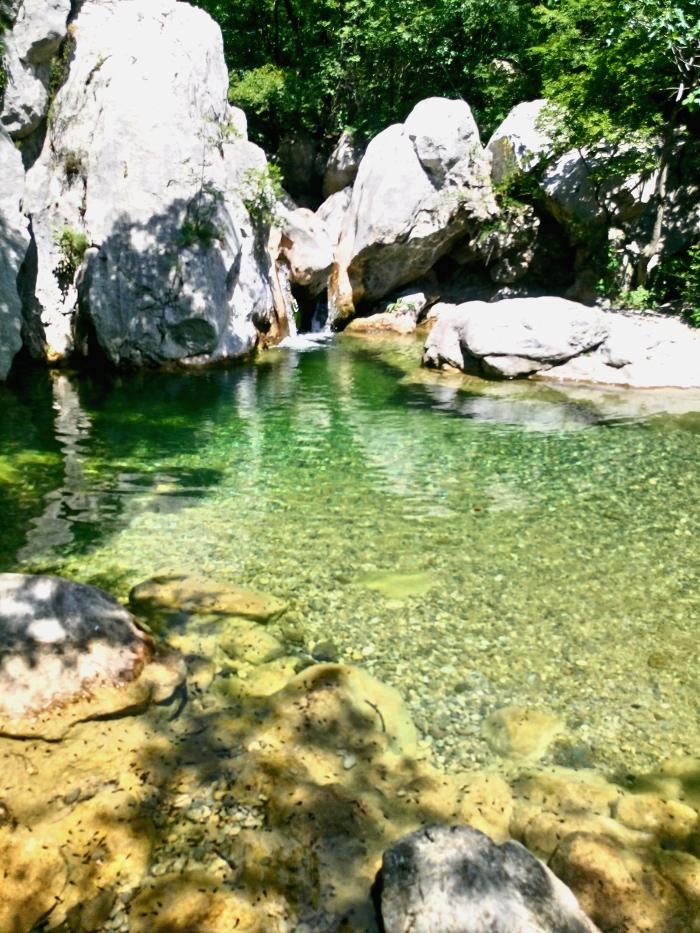 paklenica nationalpark wasserfall