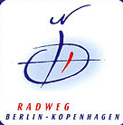 Radweg Berlin-Kopenhagen Zeichen Schild deutschland