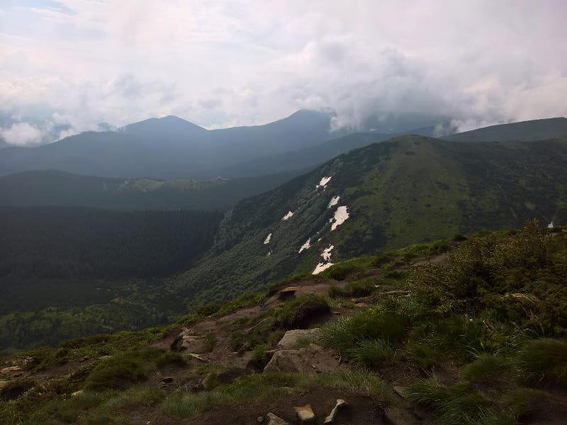 hoverla berg ukraine wanderung