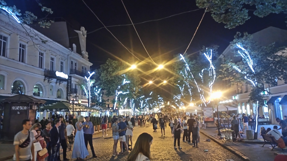 odessa nachtleben promenade