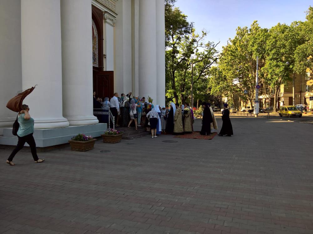 odessa urlaub orthodox kirche