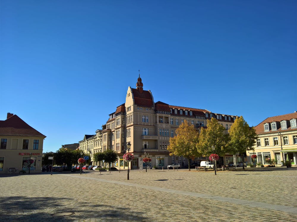neuruppin marktplatz