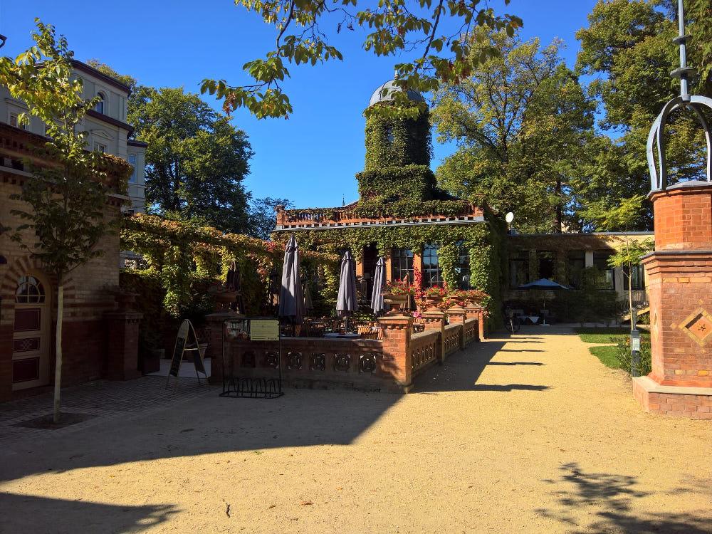 neuruppin tipps neuruppin park cafe tempelgarten restaurant