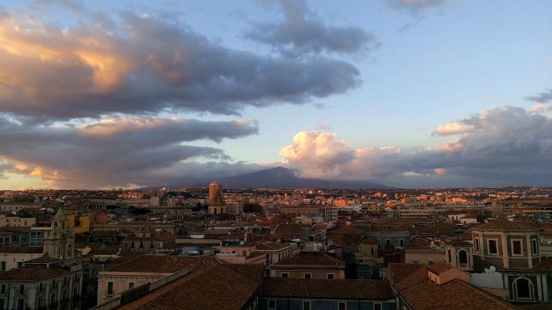 aussicht kuppel barockkirche catania sizilien aussichtspunkt