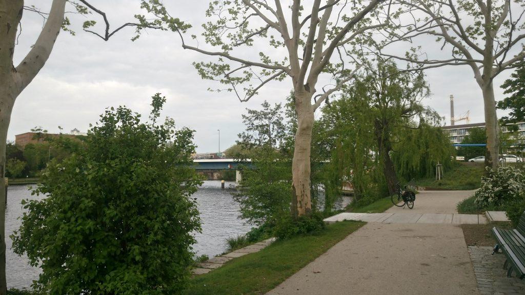 Nordhafen Gruenflaeche Berlin