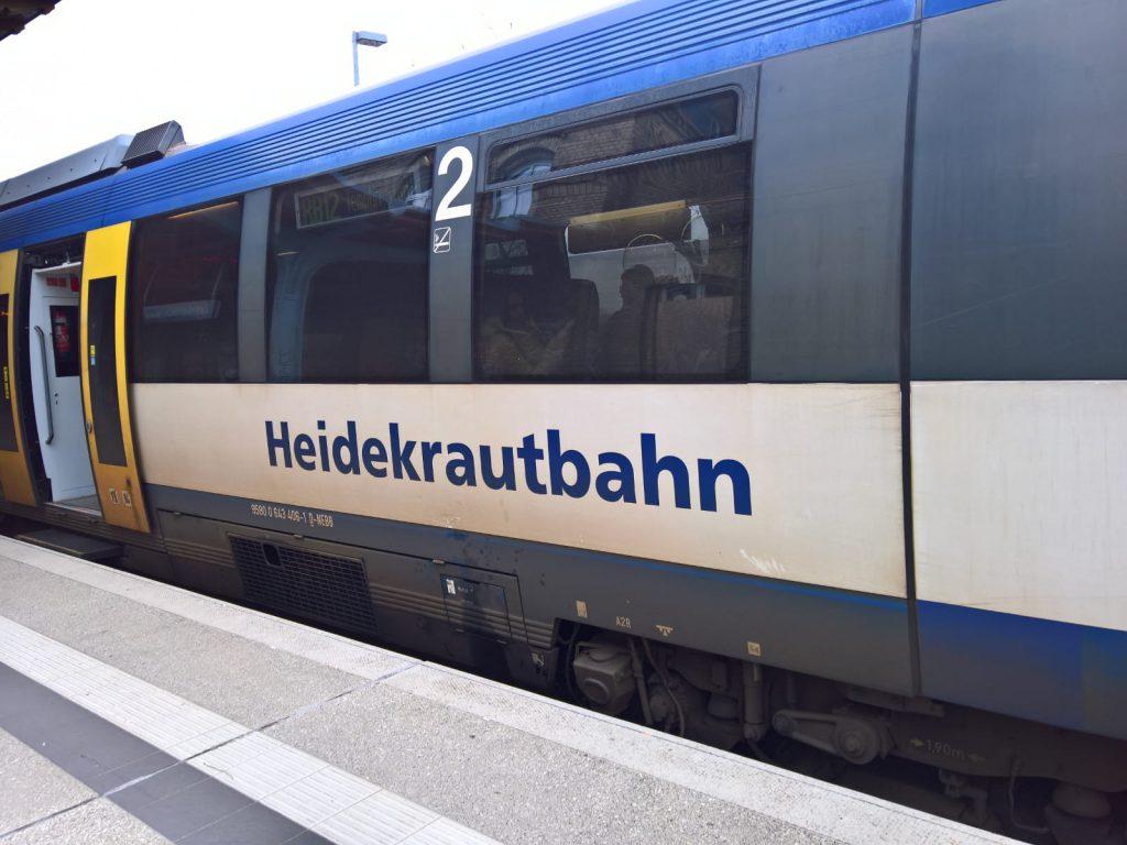 Radtour berlin rheinsberg heidekrautbahn